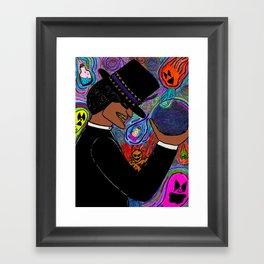 He's the Magic Man... Framed Art Print
