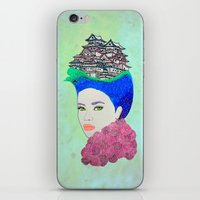 japan iPhone & iPod Skins featuring Japan by Luna Portnoi