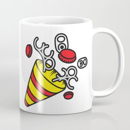 SAD PARTY POPPER Coffee Mug