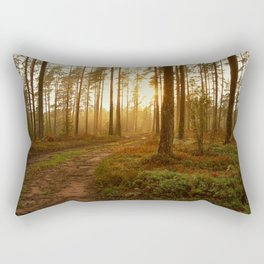 The Warmest Morning Rectangular Pillow