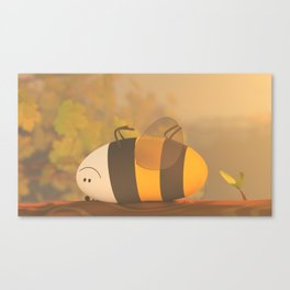 Hello :) Canvas Print