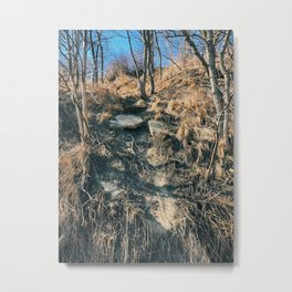 The collapsed road Metal Print