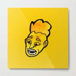 Yellow Head part 1 #eclecticart Metal Print