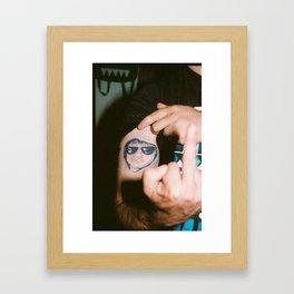 Joe. Framed Art Print