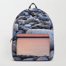 Santiago Beach. La Gomera Island. Canary Islands At sunrise Backpack