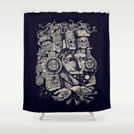 Mictecacihuatl 2 Shower Curtain