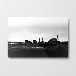 Columbus Georgia Skyline Metal Print