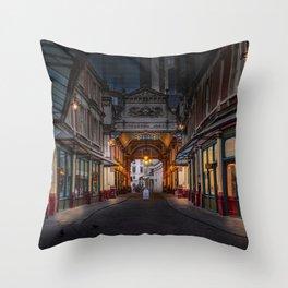 London Street Throw Pillow