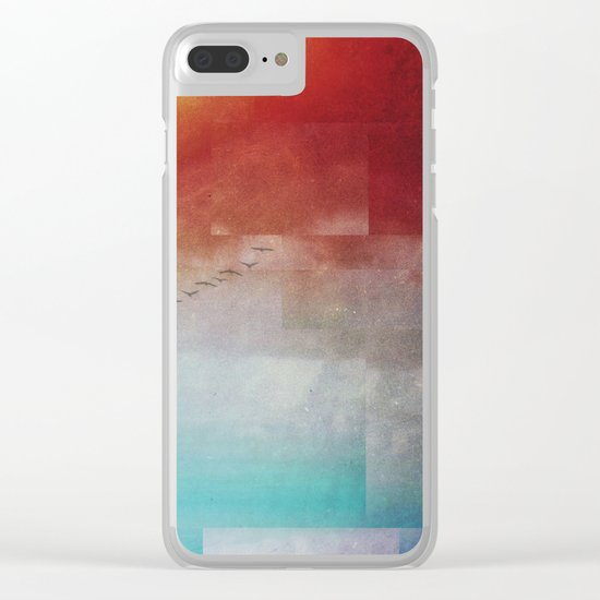 Fractions A86 Clear iPhone Case