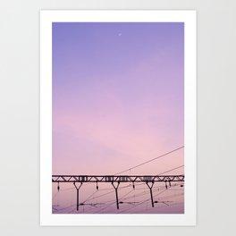 Malavli Sky I Art Print