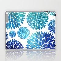 Ocean Flowers Watercolor Laptop & iPad Skin