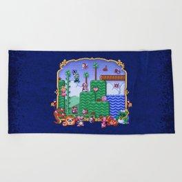 Mario Super Bros, Too Beach Towel