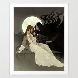 Spells of Shadow Art Print