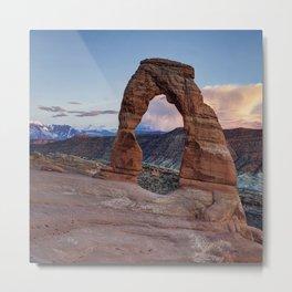Delicate Arch Utah Metal Print