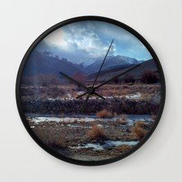 Ladakh colours Wall Clock