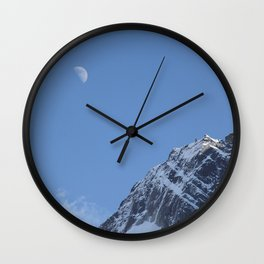 Moon Sky Mountain Wall Clock