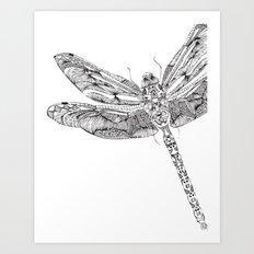 Libellula Art Print