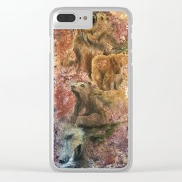 Homage to Bears Clear iPhone Case