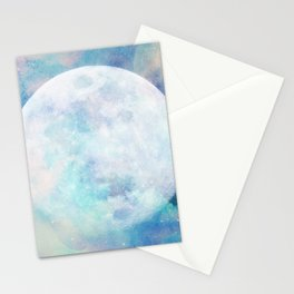 Moon + Stars Stationery Cards
