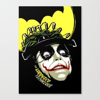 ultraviolence Canvas Prints featuring The Ludovico Technique by Butcher Billy