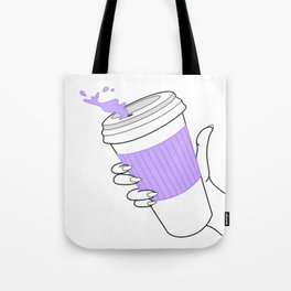 don't spill ! Tote Bag