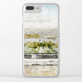 Apple Park, Silicon Valley Clear iPhone Case