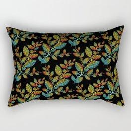 Maori leaves pattern Rectangular Pillow