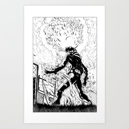 Test Upload Art Print