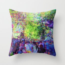 Equations involving a consequence of sequences. 01 Throw Pillow