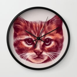 Everybody wants to be a Cat Wall Clock