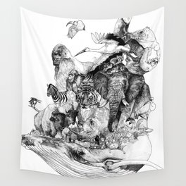 Endangered species Wall Tapestry