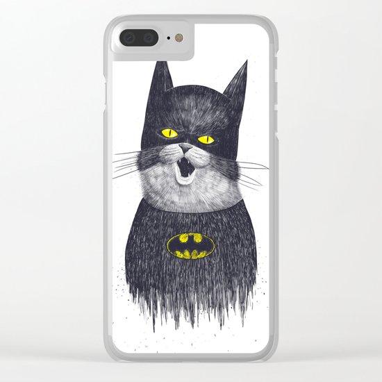 Catman Clear iPhone Case