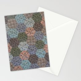 Hexagons Galore Stationery Cards