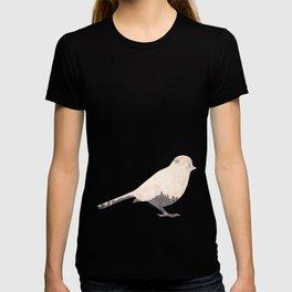 pink sky bird with trees T-shirt
