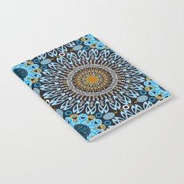 Calligraphic Boho (Blue) Notebook