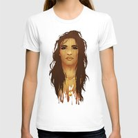 native american T-shirts featuring Native American by Kimball Gray