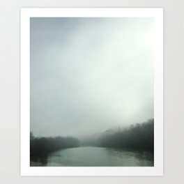 Chattahoochee River, Georgia Art Print