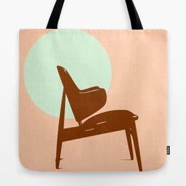 Kofoed Larsen Shell chair Tote Bag