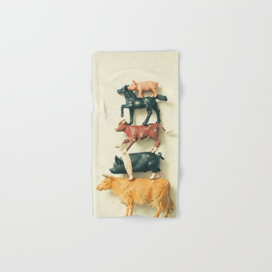 Animal Antics Hand & Bath Towel