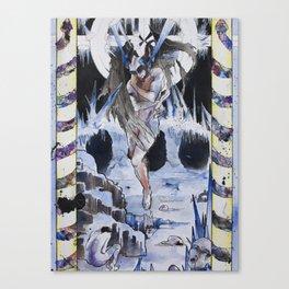 Frozen Heart    Treachery    9th Circle of Hell    Dante's Inferno Canvas Print