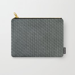 grey-pattern Carry-All Pouch