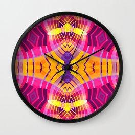 Pinky Aztec Wall Clock