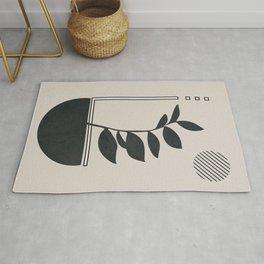 Abstract Geometric Art II Rug