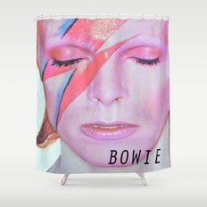 Bowie I Shower Curtain