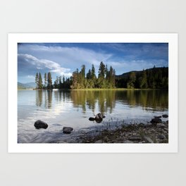 Time to Reflect Art Print