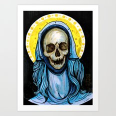 The Reliquary of Mary Magdalene Art Print