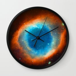 Eye Of God - Helix Nebula Wall Clock