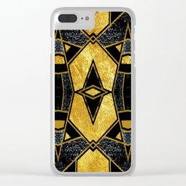 Geometric #935 Clear iPhone Case