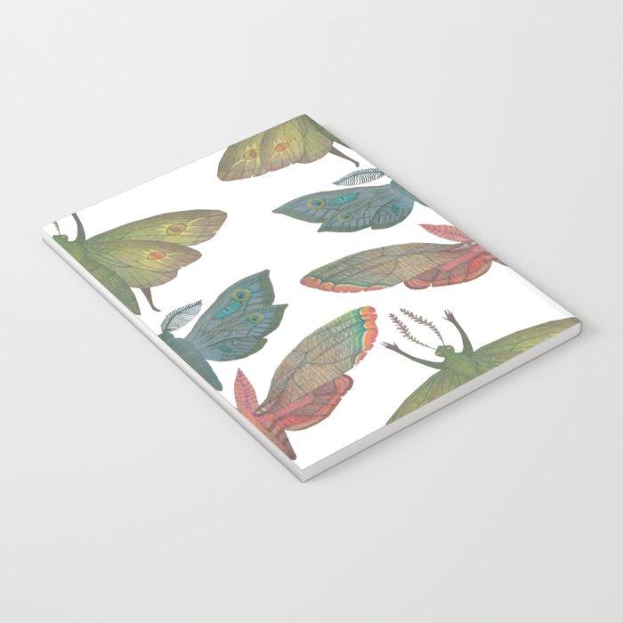 Saturn Moths Notebook