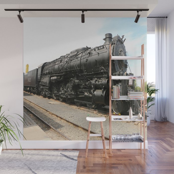 Steam Locomotive Number 5021 Sacramento Wall Mural